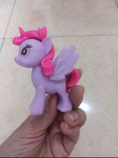 Mainan Anak Perempuan Figure Little Pony Pink Ungu Cute Murah