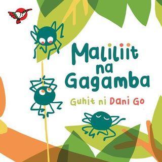 Maliliit na Gagamba   Adarna House   Filipino   Boardbook   Children's Book