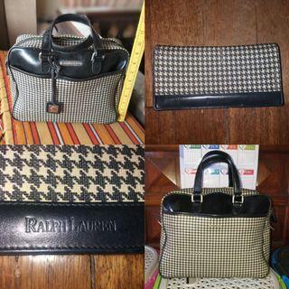 Ralph lauren bag and wallet