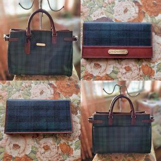 Ralph lauren matching bag and wallet