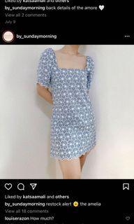Sunday Morning Blue Dress