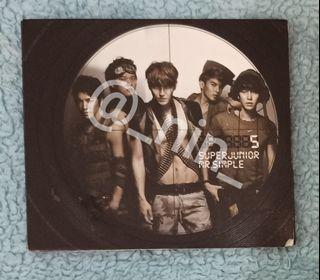 Super Junior - Mr. Simple (B Version) Album Only