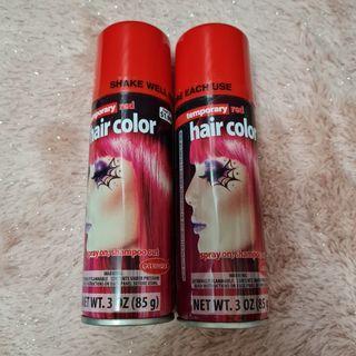 TEMPORARY HAIR COLOR / HAIR SPRAY