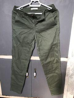 Terranova army green cargo pants