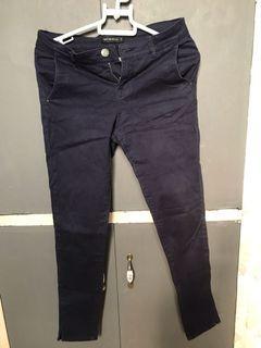 Terranova dark blue formal skinny slacks