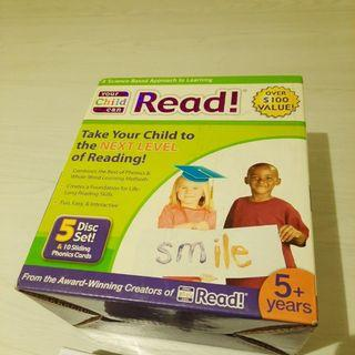 Your Child Can Read Phonics Card Reading CD Book Phonetics Education Box Set Enrichment Training Tuition
