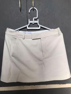Zara Formal offwhite skirt