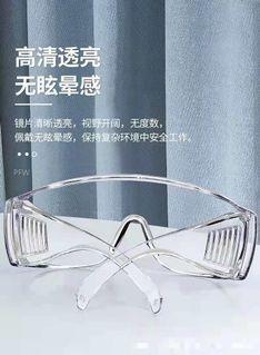 防噴濺護目鏡(2個)