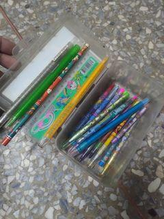 筆 免削筆 鉛筆 彩虹筆