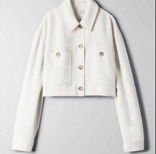 Aritzia Wilfred Little Cropped Jacket - size L