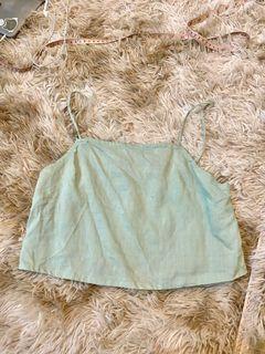 Callelily Eliz Linen Top