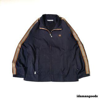 Champion running jacket black