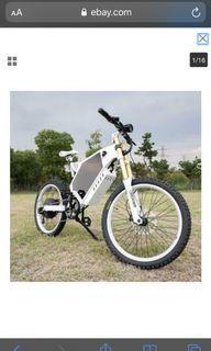 Electric bike | 50 Mph Top Speed