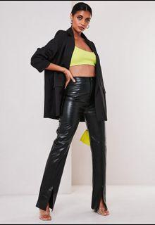 Faux Leather Missguided Pants