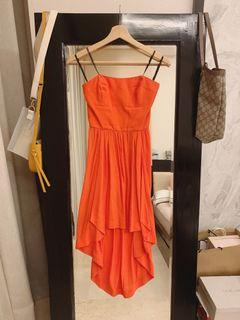 Forever New High Low Chiffon Dress