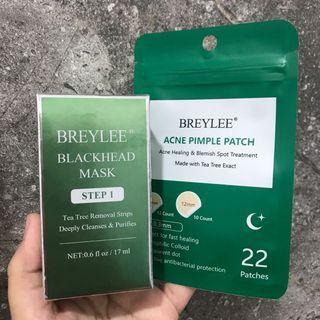 (FreeOngkir) Breylee Blackhead Step 1 + Acne Patch