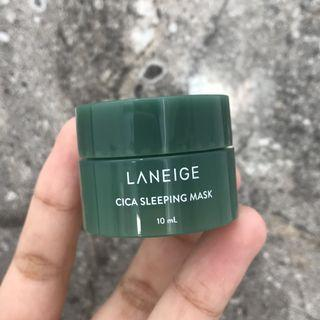 (FreeOngkir) Laneige Cica Sleeping Mask 10ml