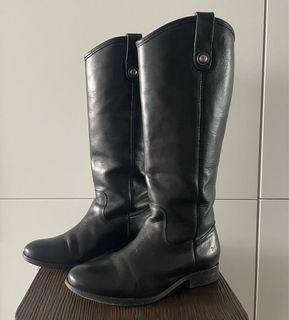 Frye leather boots/size 6.5/good condition