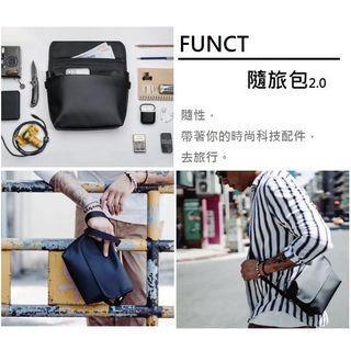 「二手」FUNCT時尚防水隨旅包-黑色2.0