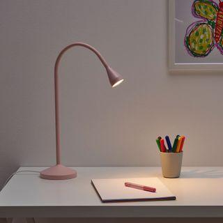 IKEA NÄVLINGE Led工作燈/檯燈[粉紅色]