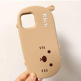 iPhone 11 pro phone case - cat soft silicone
