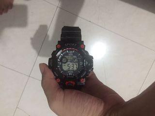 Jam Tangan SPORT WR30M Water Resistant
