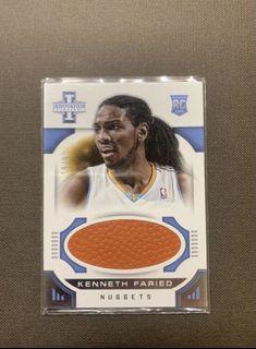 KENNETH FARIED 限量球衣卡NBA