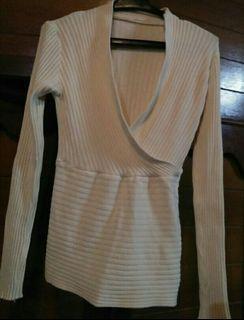 knitted longsleeve top