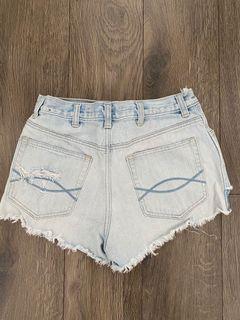 Light Blue Abercrombie Denim Shorts