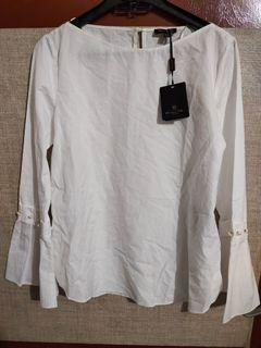 Massimo Dutti shirt with pearl