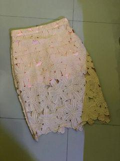 Midi Floral Skirt
