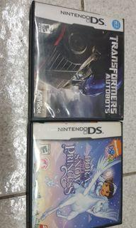 Nintendo DS Games with Case & Manual Set USA