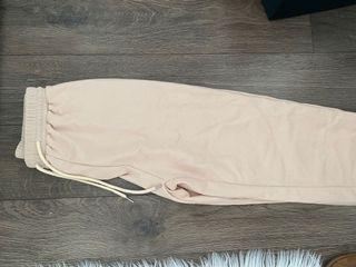 Nude Beige Sweatpants
