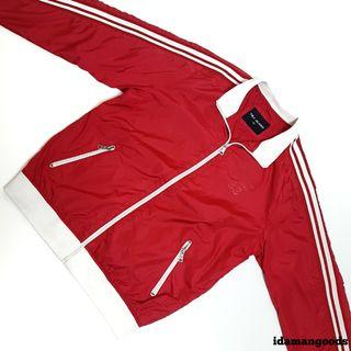 TBJ Jeans tracktop jacket red
