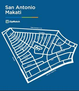 Townhouse for rent in San Antonio Village Makati