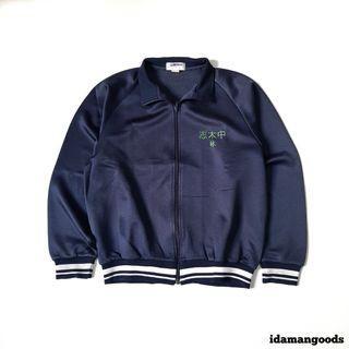 Wintech tracktop jacket navy