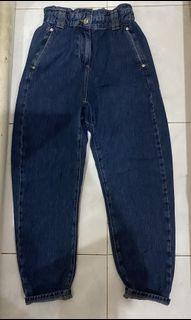 ZARA baggy jeans dark blue