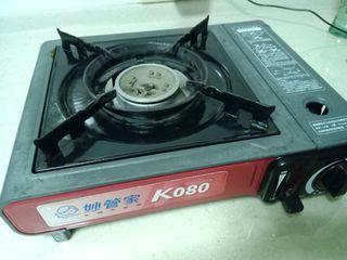 妙管家 戶外瓦斯爐 卡式爐 K080