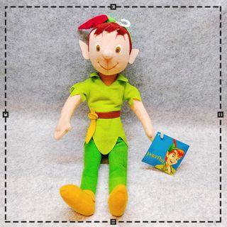 applause 迪士尼 peter pan 彼得潘 小飛俠 布偶 公仔 玩偶 娃娃 毛絨 玩具 絕版 限定 稀少