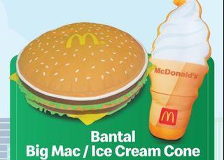 Bantal Merchandise McDonald's