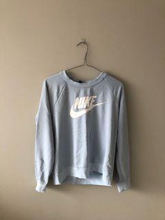 Blue Nike crewneck