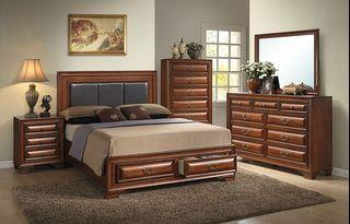 BRAND NEW: 4 piece bedroom set (never removed from original box)