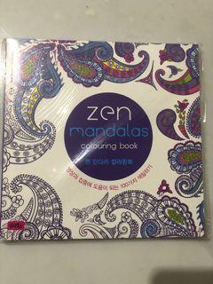 Buku Mewarnai Zen Mandalas
