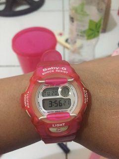 Casio Baby G sexy pink
