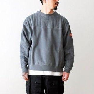 Cav empt C.E. CE Overdye Pad Reversible Sweatshirt