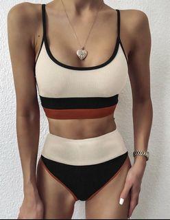 Color Block Swimsuit Swimwear