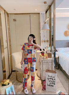 ec Set Sinchan Berry CP l atasan fashion baju tidur piyama sinchan wanita