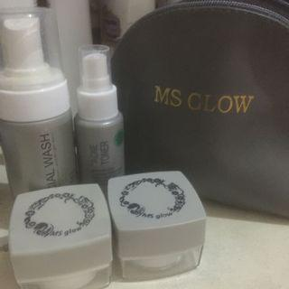 [free pouch] ms glow acne