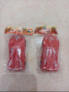 Mainan Anak Laki Mobil Mobilan Warna Merah 2pcs cuma 5k NEW Murah