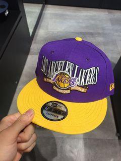 NEW ERA 湖人隊徽 NBA LAKERS紫色黃色NE70474410